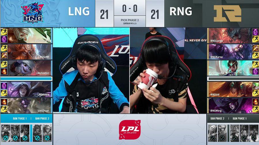 【战报】针对下路建立优势,RNG击败LNG先下一城